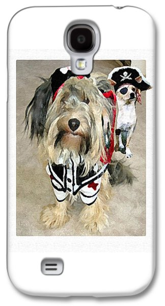 Pirate Dogs Galaxy S4 Case by Jane Schnetlage