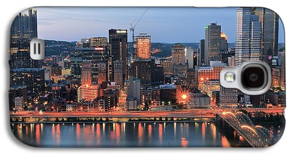 Pittsburgh At Dusk Galaxy S4 Case