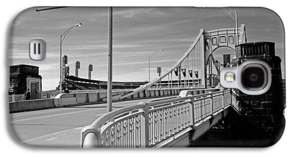 Pittsburgh - Roberto Clemente Bridge Galaxy S4 Case by Frank Romeo