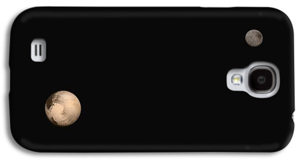 Pluto And Charon Galaxy S4 Case by Nasa/jhuapl/swri