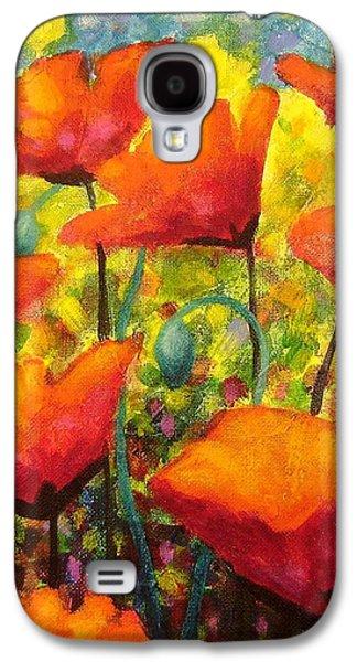 Poppy Corner Galaxy S4 Case by John  Nolan
