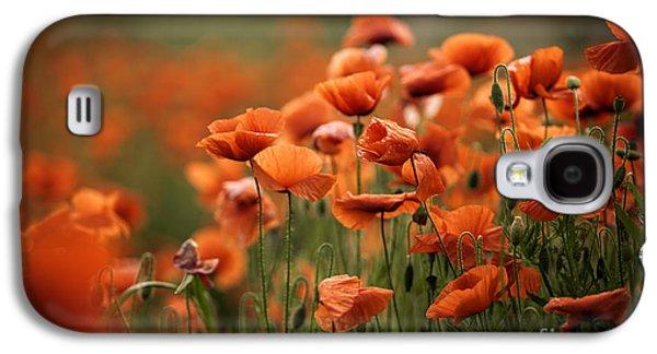 Poppy Dream Galaxy S4 Case by Nailia Schwarz
