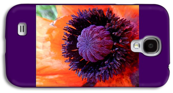 Poppy Galaxy S4 Case