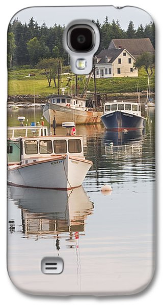 Port Clyde Maine Boats And Harbor Galaxy S4 Case