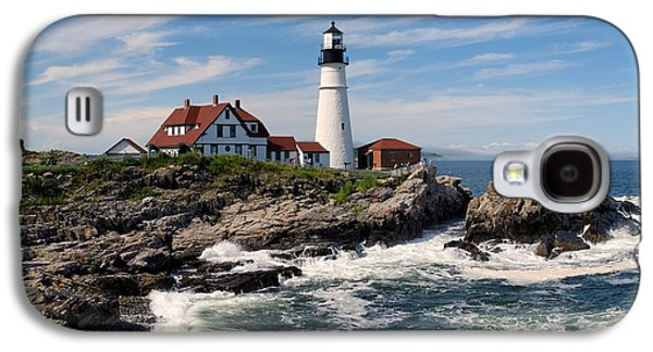 Portland Head Lighthouse Galaxy S4 Case by Georgia Fowler