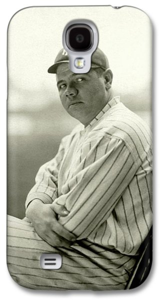 Portrait Of Babe Ruth Galaxy S4 Case by Arnold Genthe