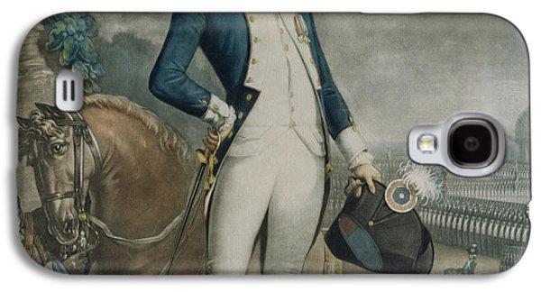 Portrait Of The Marquis De La Fayette Galaxy S4 Case by Philibert-Louis Debucourt