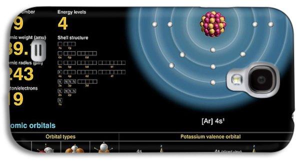 Potassium Galaxy S4 Case by Carlos Clarivan