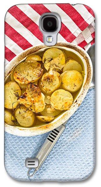 Potato Dish Galaxy S4 Case by Tom Gowanlock