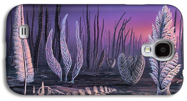 Pre-cambrian Life Forms Galaxy S4 Case by Richard Bizley