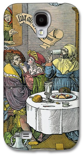 Prostitution, 16th Century Galaxy S4 Case by Granger