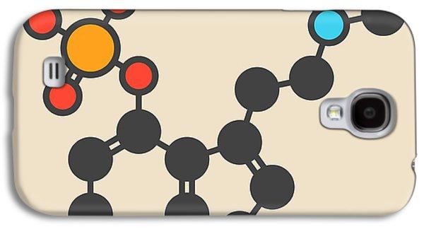 Psilocybin Psychedelic Mushroom Molecule Galaxy S4 Case