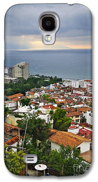Puerto Vallarta And Pacific Ocean Galaxy S4 Case