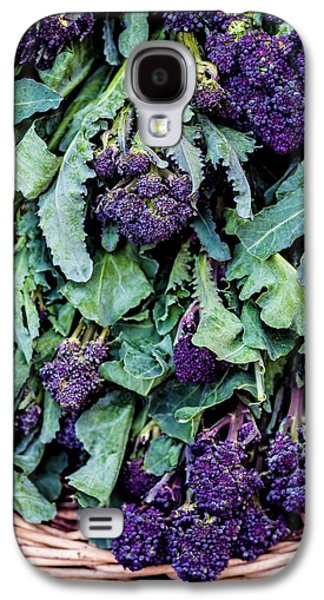 Purple Sprouting Broccoli Galaxy S4 Case by Aberration Films Ltd