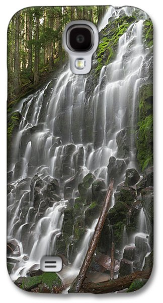 Ramona Falls In Clackamas County, Oregon Galaxy S4 Case by William Sutton