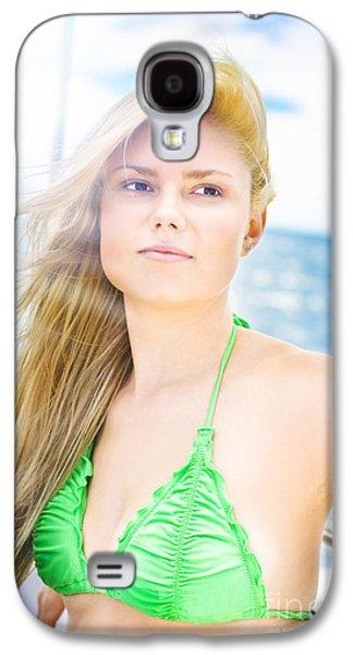 Rays Of Summer Sun Galaxy S4 Case
