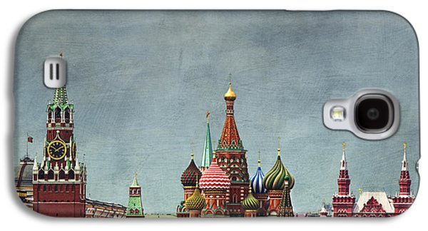 Moscow Galaxy S4 Case - Red Square Moscow by Elena Nosyreva