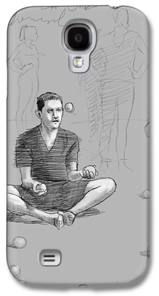 Rehearsal Galaxy S4 Case by H James Hoff