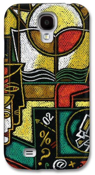 Research Galaxy S4 Case by Leon Zernitsky