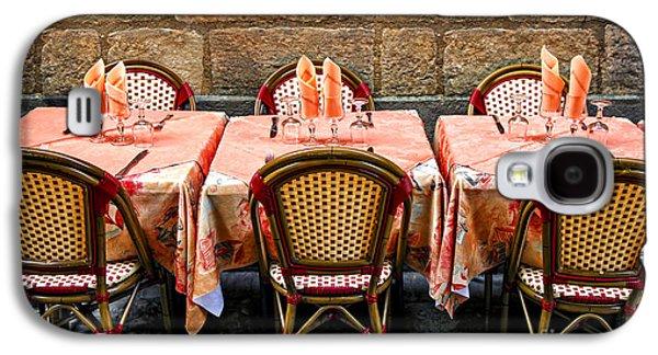 Restaurant Patio In France Galaxy S4 Case