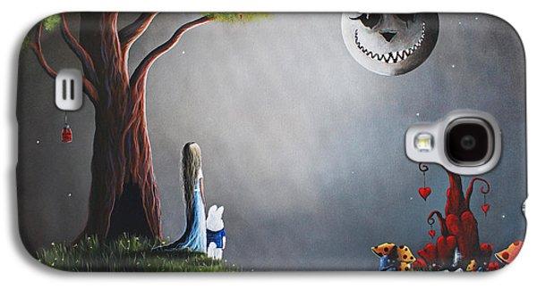 Castle Galaxy S4 Case - Alice In Wonderland Original Artwork by Shawna Erback