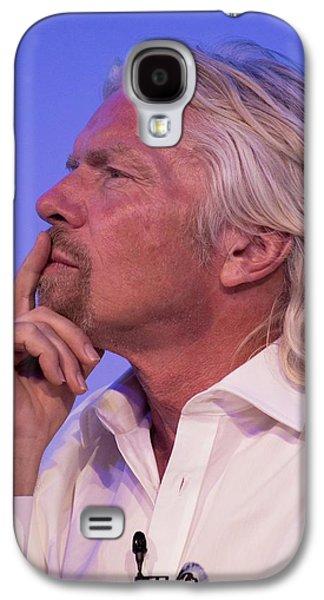 Richard Branson. Galaxy S4 Case by Mark Williamson