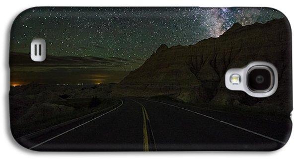 Ride Across The Badlands  Galaxy S4 Case by Aaron J Groen