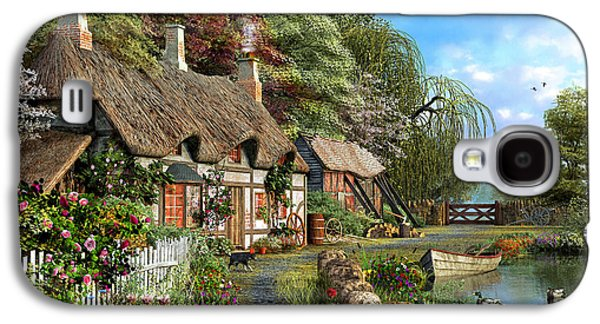 Riverside Home In Bloom Galaxy S4 Case
