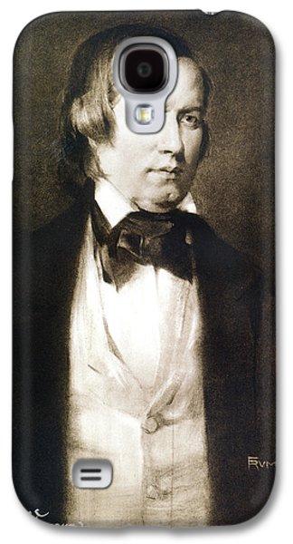 Robert Schumann (1810-1856) Galaxy S4 Case by Granger