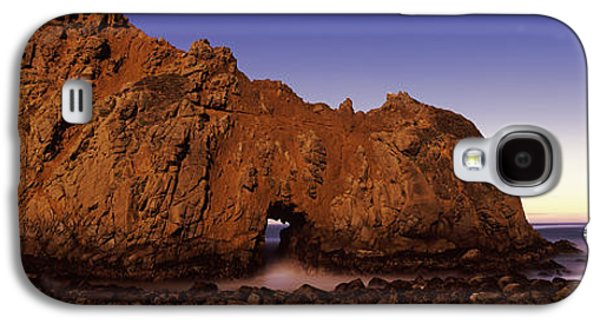 Rock Formation On The Beach, One Hour Galaxy S4 Case by Panoramic Images