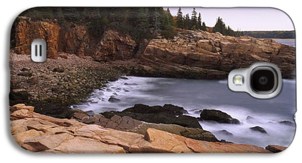 Rock Formations At The Coast, Monument Galaxy S4 Case by Panoramic Images