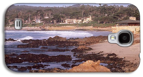 Rock Formations In The Sea, Carmel Galaxy S4 Case by Panoramic Images