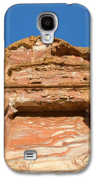 Rock Texture Of Cave Wall, Petra, Jordan Galaxy S4 Case by Keren Su