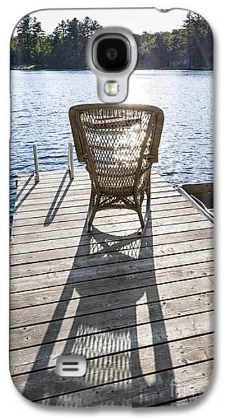 Rocking Chair On Dock Galaxy S4 Case
