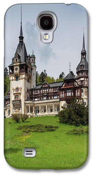 Romania, Transylvania, Sinaia, Peles Galaxy S4 Case by Walter Bibikow