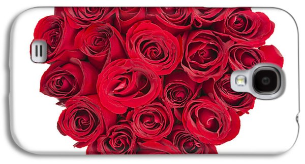 Rose Heart Galaxy S4 Case by Elena Elisseeva