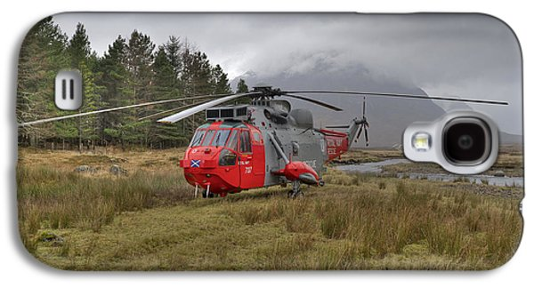 Royal Navy Sar Sea King Xz920 Glencoe Galaxy S4 Case