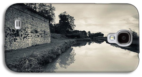 Ruins Of River Fort Designed By Vauban Galaxy S4 Case by Panoramic Images