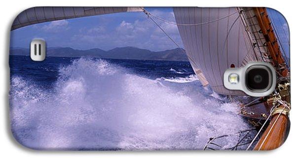 Sailboat In The Sea, Antigua, Antigua Galaxy S4 Case