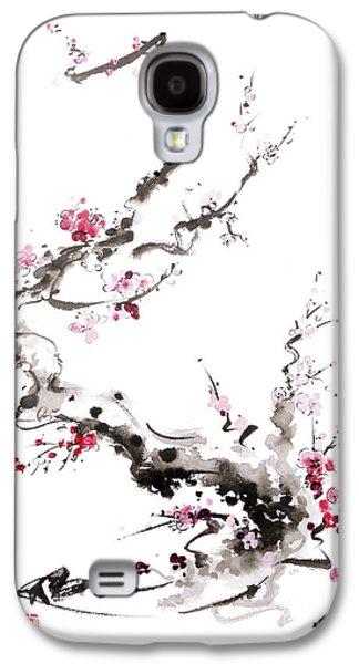 Sakura Spring Blossom. Galaxy S4 Case by Mariusz Szmerdt