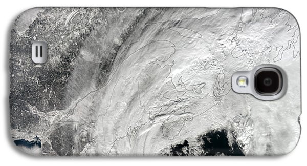 Satellite View Of A Large Noreaster Galaxy S4 Case