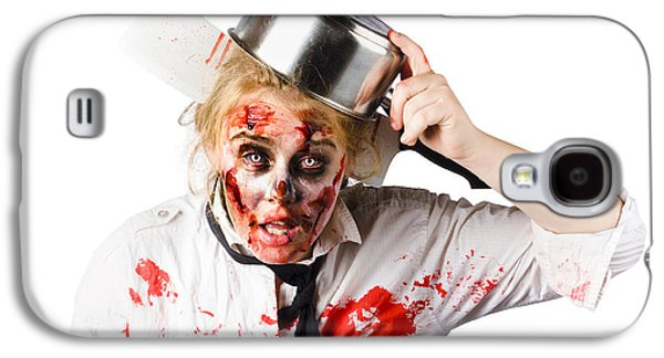 Scary Cook Making Mess With Jam Galaxy S4 Case by Jorgo Photography - Wall Art Gallery
