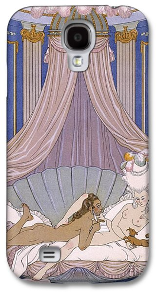 Scene From 'les Liaisons Dangereuses' Galaxy S4 Case by Georges Barbier
