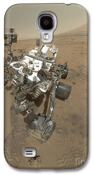 Self-portrait Of Curiosity Rover Galaxy S4 Case by Stocktrek Images