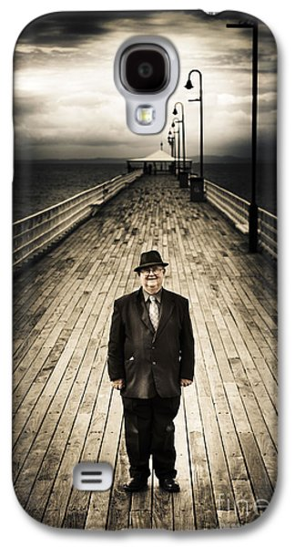 Senior Male Standing On A Pier Promenade Galaxy S4 Case