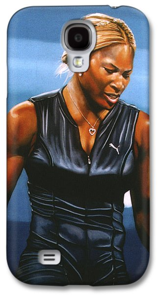 Serena Williams Galaxy S4 Case - Serena Williams by Paul Meijering