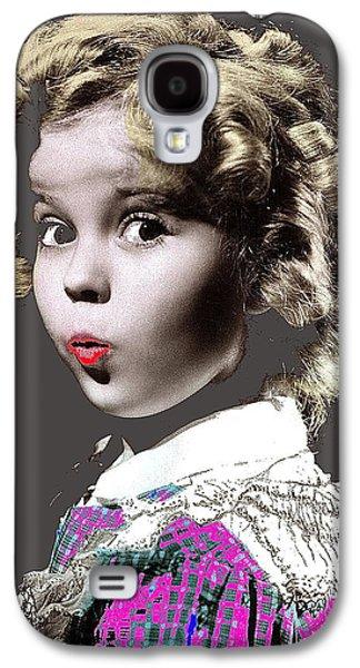 Shirley Temple Publicity Photo Circa 1935-2014 Galaxy S4 Case