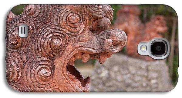 Shisa, Or Okinawan Lion Gods Galaxy S4 Case by Paul Dymond