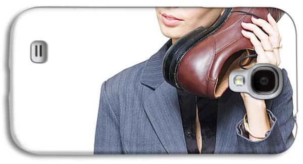 Shoe Telephone Galaxy S4 Case by Jorgo Photography - Wall Art Gallery