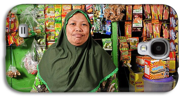 Shopkeeper With Leprosy Galaxy S4 Case by Matthew Oldfield